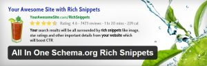 All In One Schema.org Rich Snippets افزونه